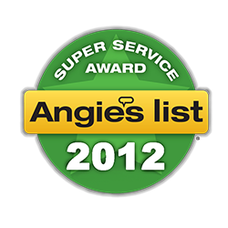2012 Angies List - Super Service Award