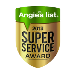 2013 Angies List - Super Service Award