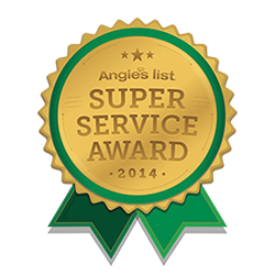 2014 Angies List - Super Service Award