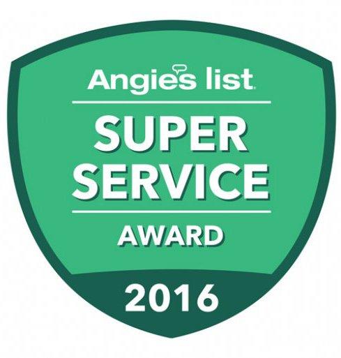 Angies List - Super Service Award 2016