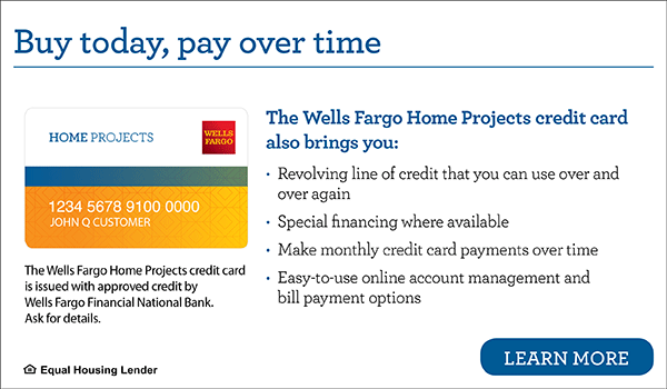 Wells Fargo Home Projects Credit Card - Easy Financing