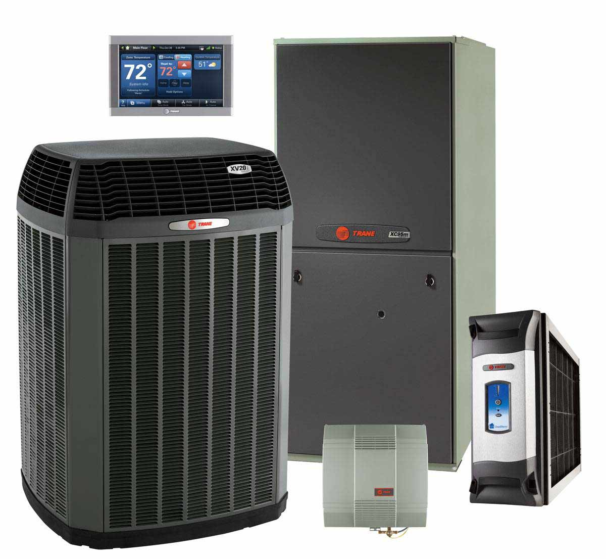 Fred S Heating And Air Trane Products
