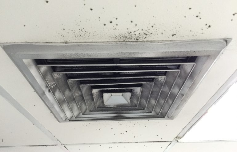 Dirty AirDuct Vent