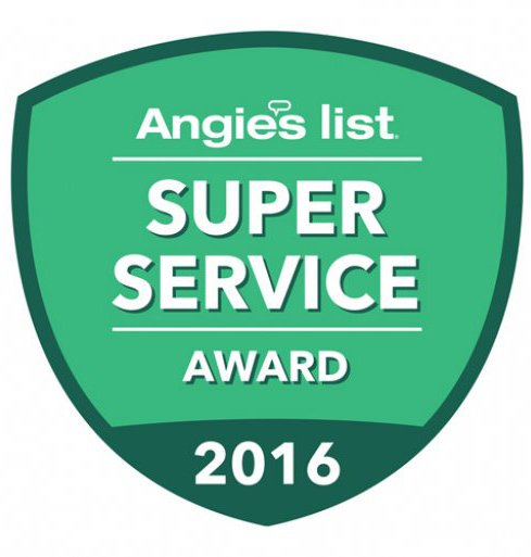 Angies List - Super Service Award 2016