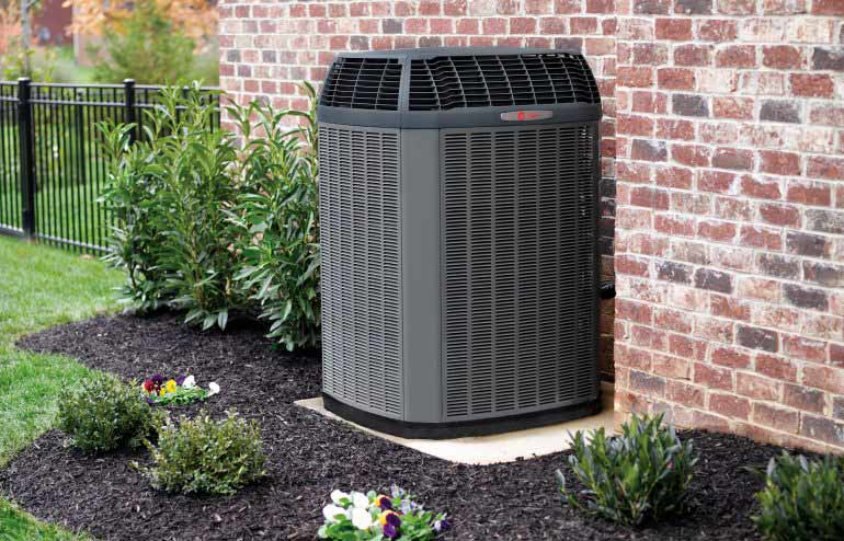 Outside Unit Freds Air Conditioner