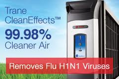Trane CleanEffects 99.98% Cleaner Air